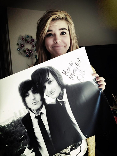 mitch lucker and kenadee tumblr