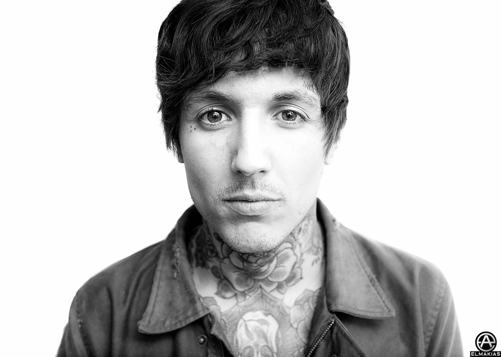 Oliver Sykes of Bring Me The Horizon