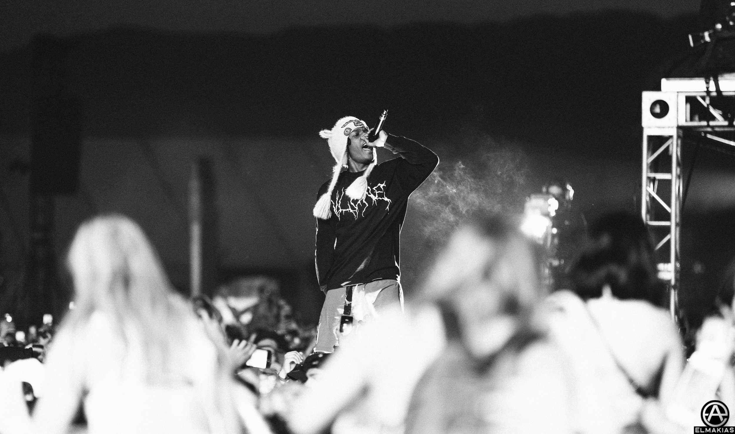 A$AP Rocky at Coachella 2016 by Adam Elmakias