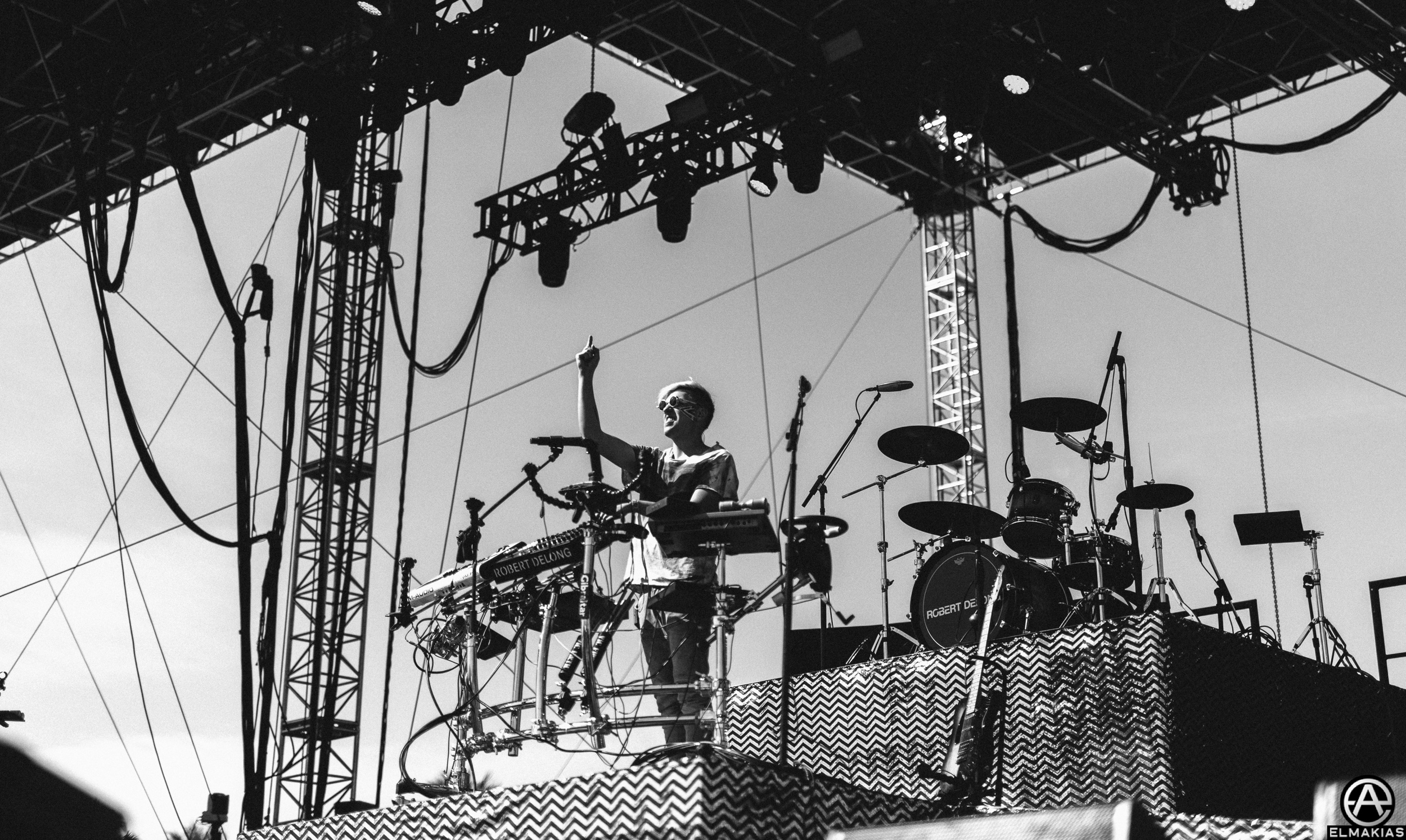 Robert DeLong at Coachella 2016 by Adam Elmakias