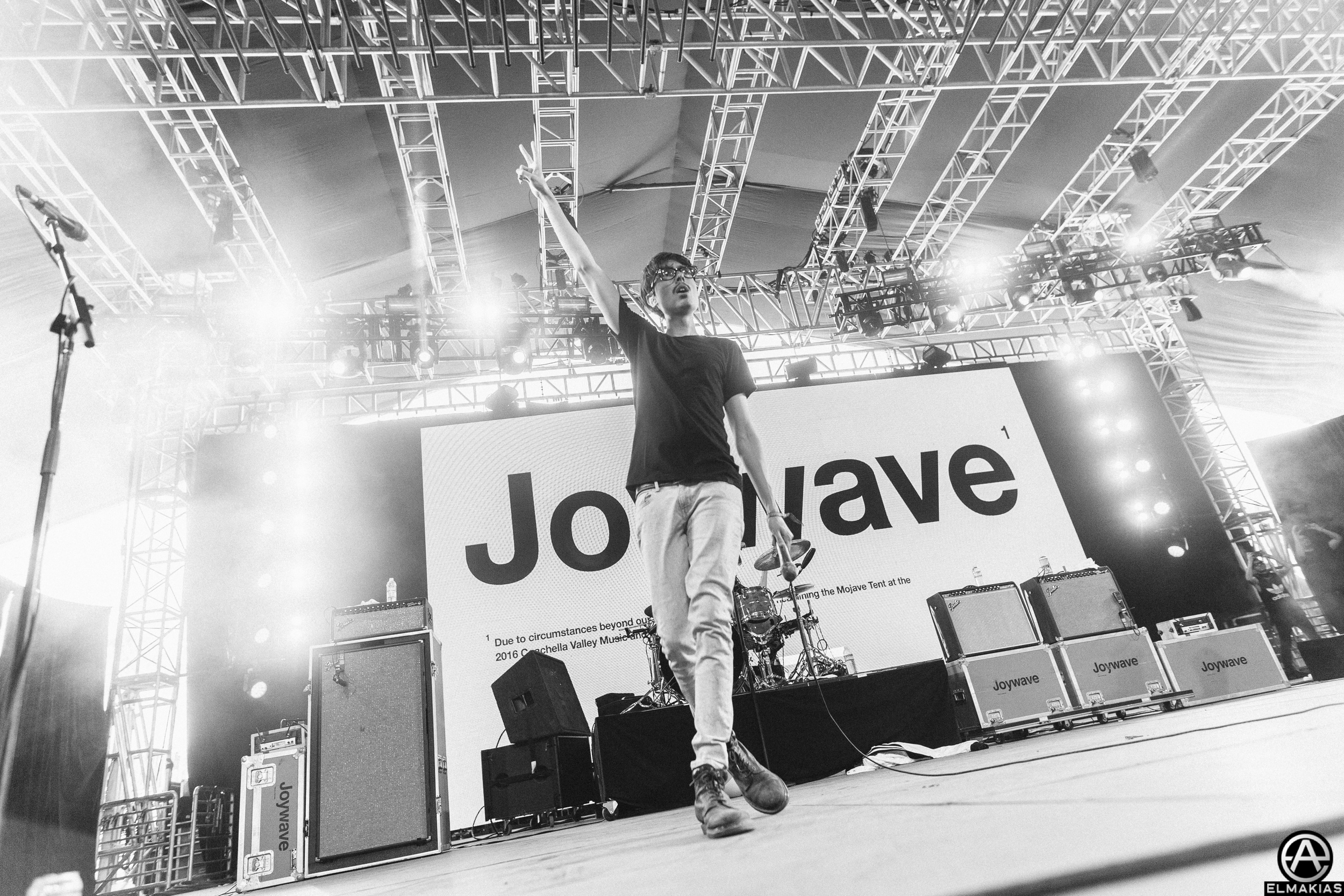 Joywave at Coachella 2016 by Adam Elmakias