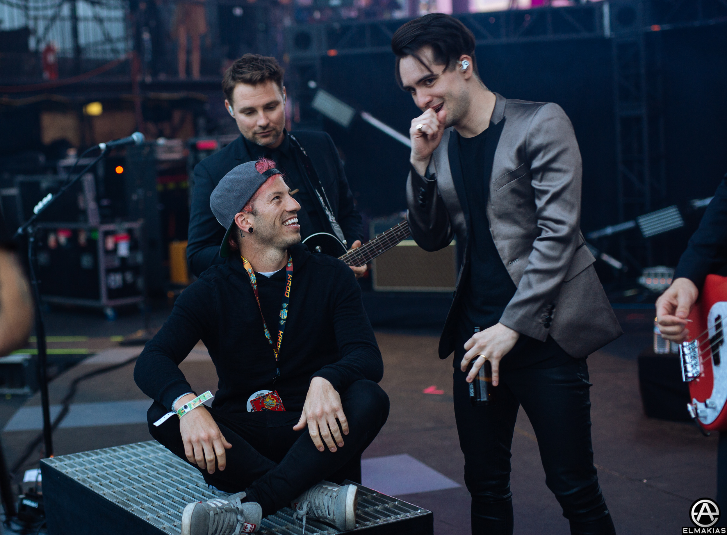 Brendon Urie and Joshua Dun i dont know what they are speaking about