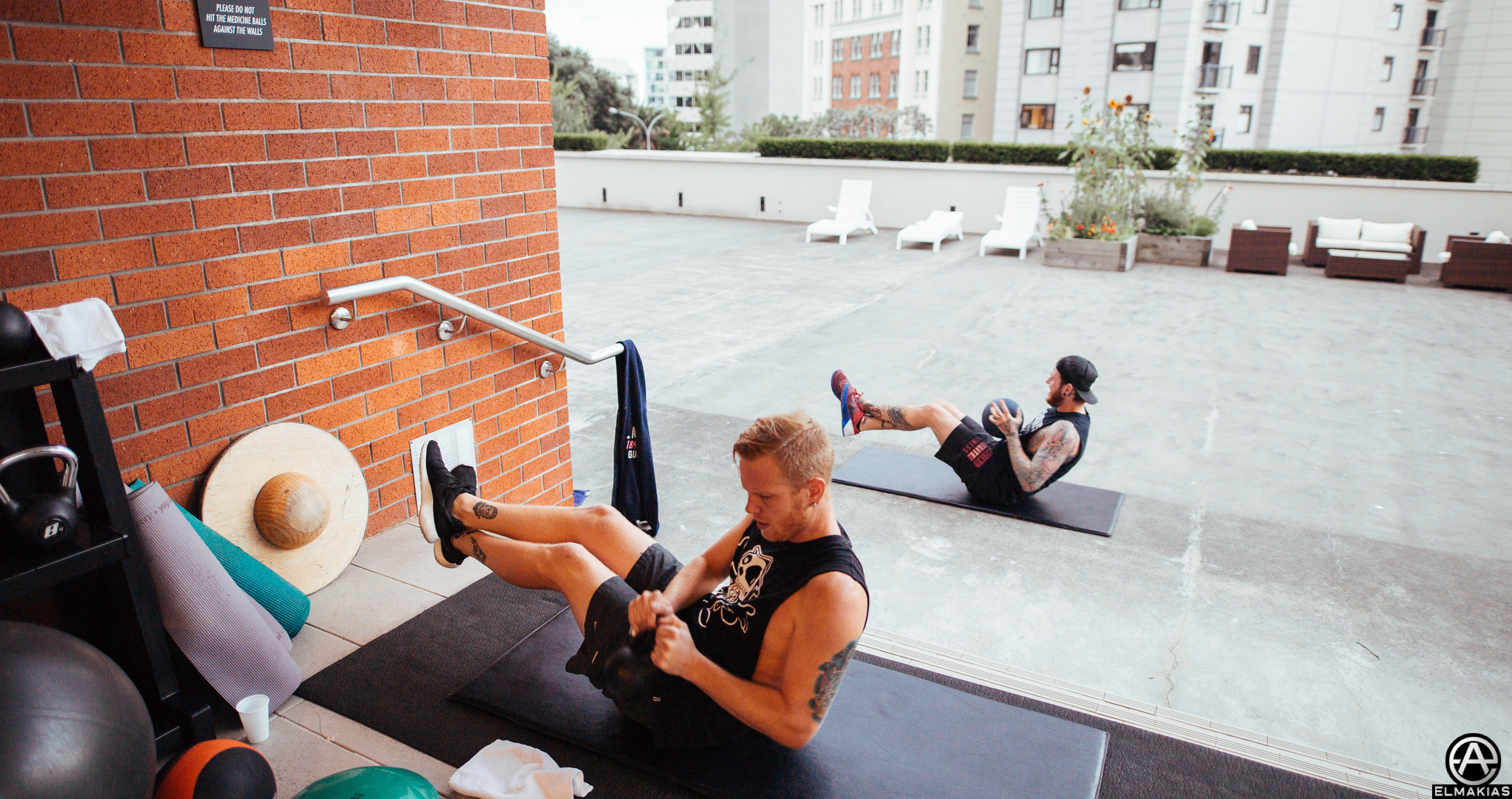 Hotel workout stay fit