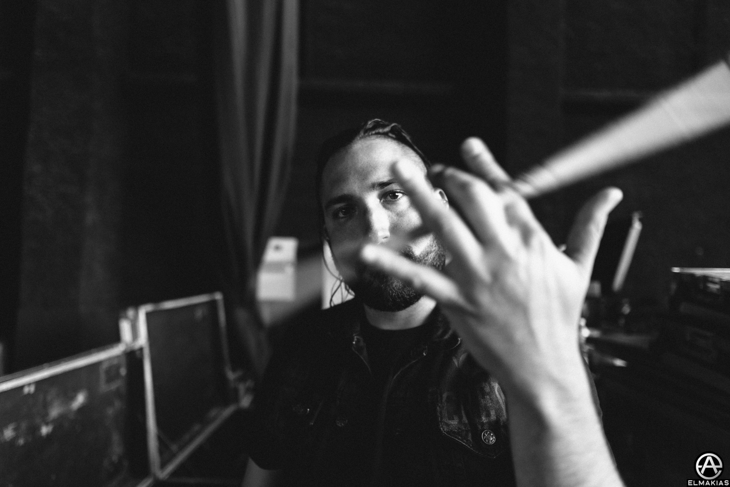 Tino Arteaga of Of Mice & Men photographed with the Sigma 24-35 ART f/2.0