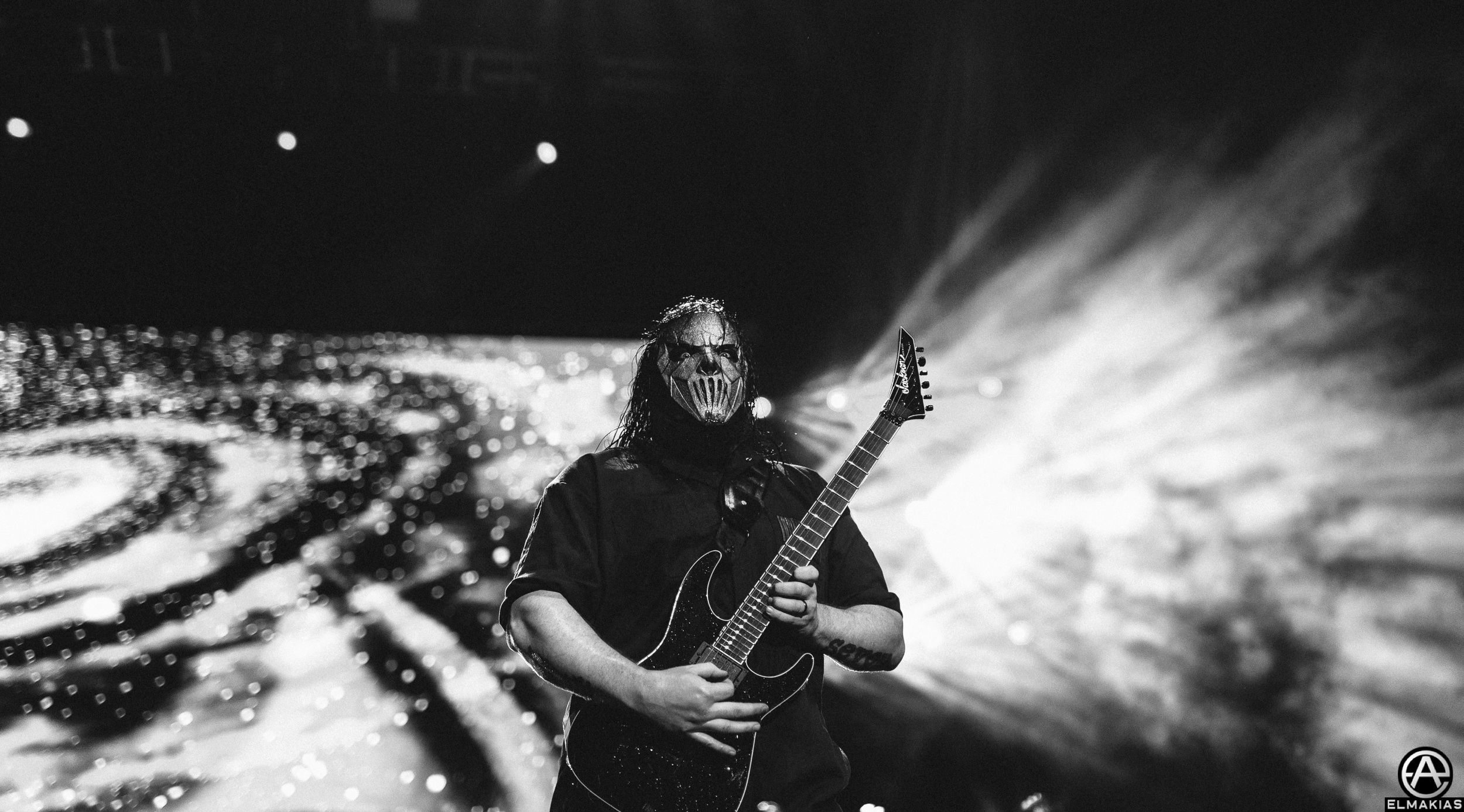 Mick Thomson of Slipknot photographed with the Sigma 50mm ART f/1.4