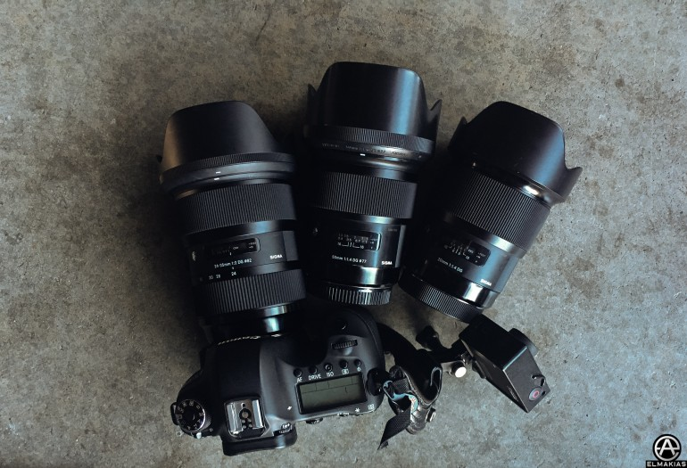 All Sigma Art lenses