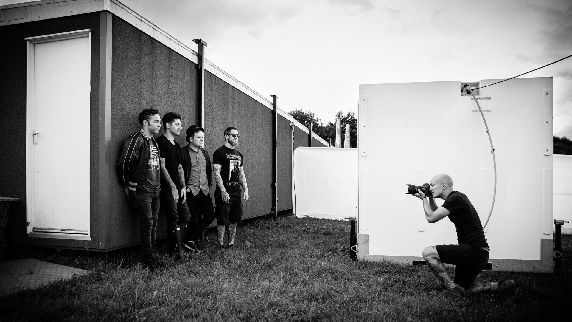 Photographing Fall Out Boy - photo by Marcus Maschwitz