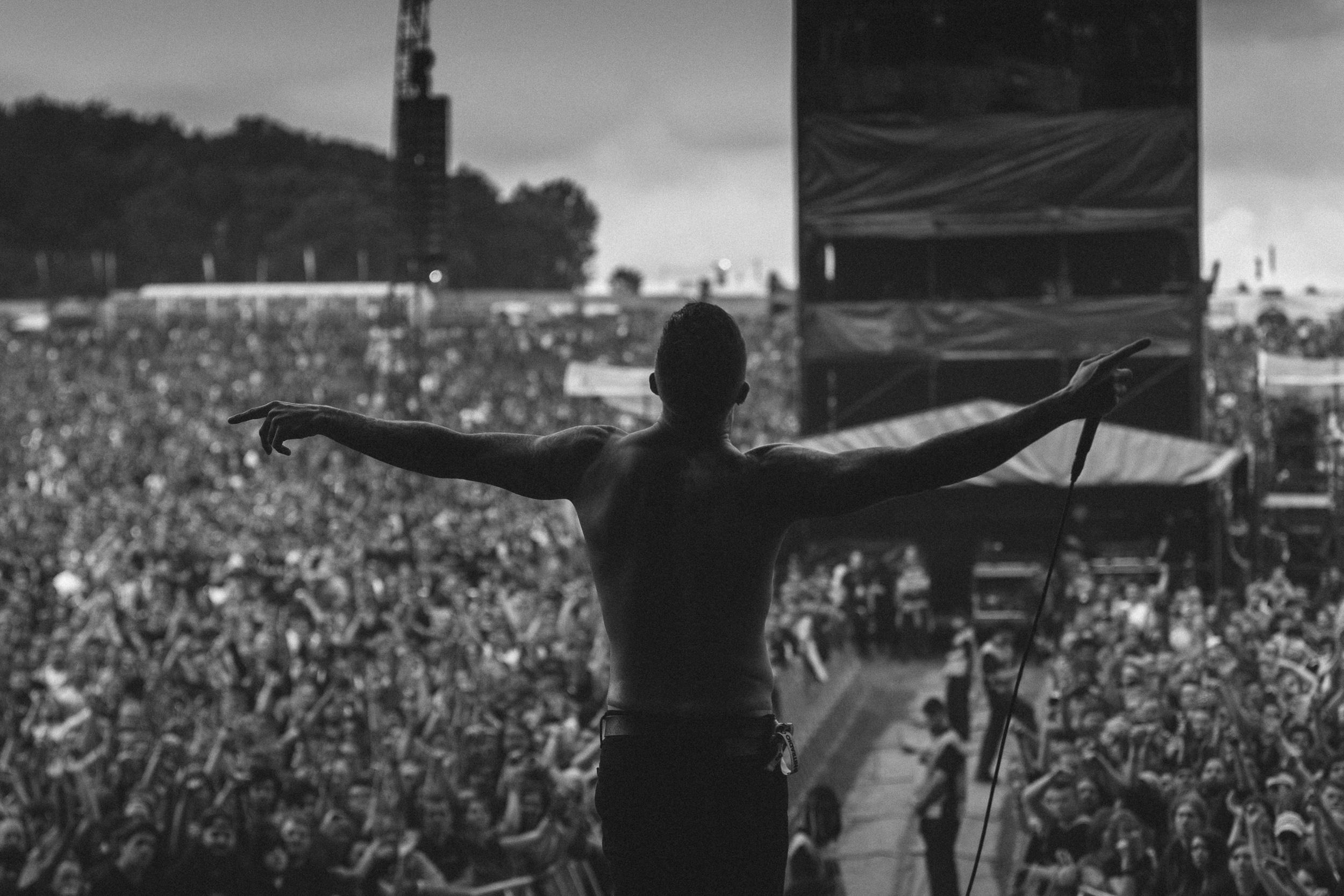 Atreyu at Download Festival
