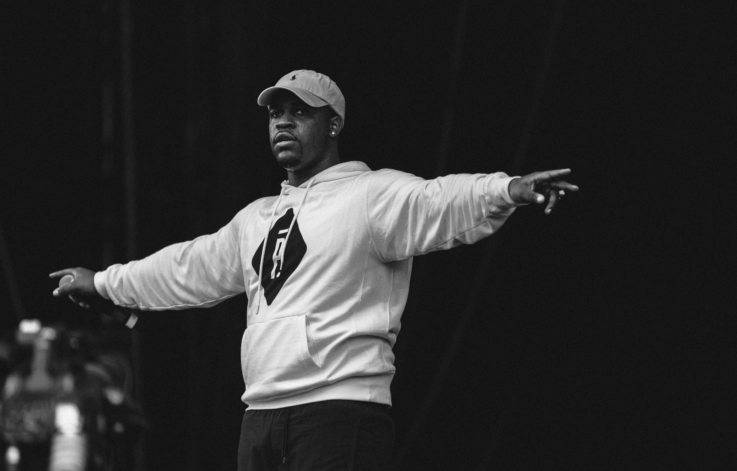A$AP Ferg at Wireless Festival by Adam Elmakias