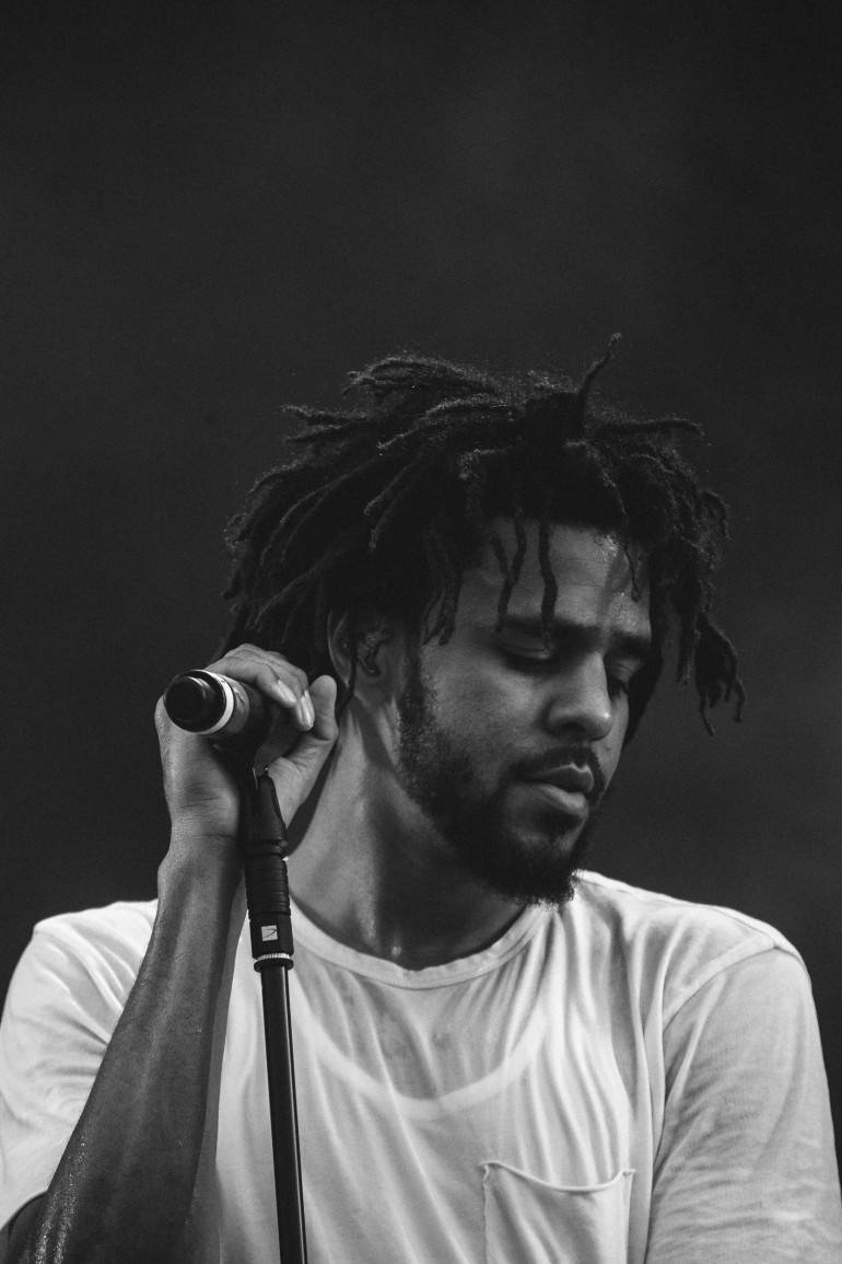 J. Cole at Wireless Festival by Adam Elmakias
