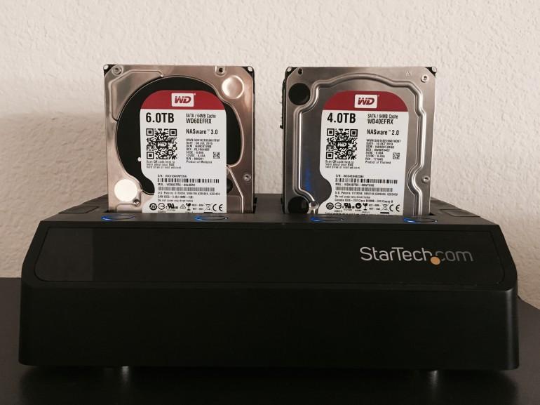 Western Digital photo storage setup