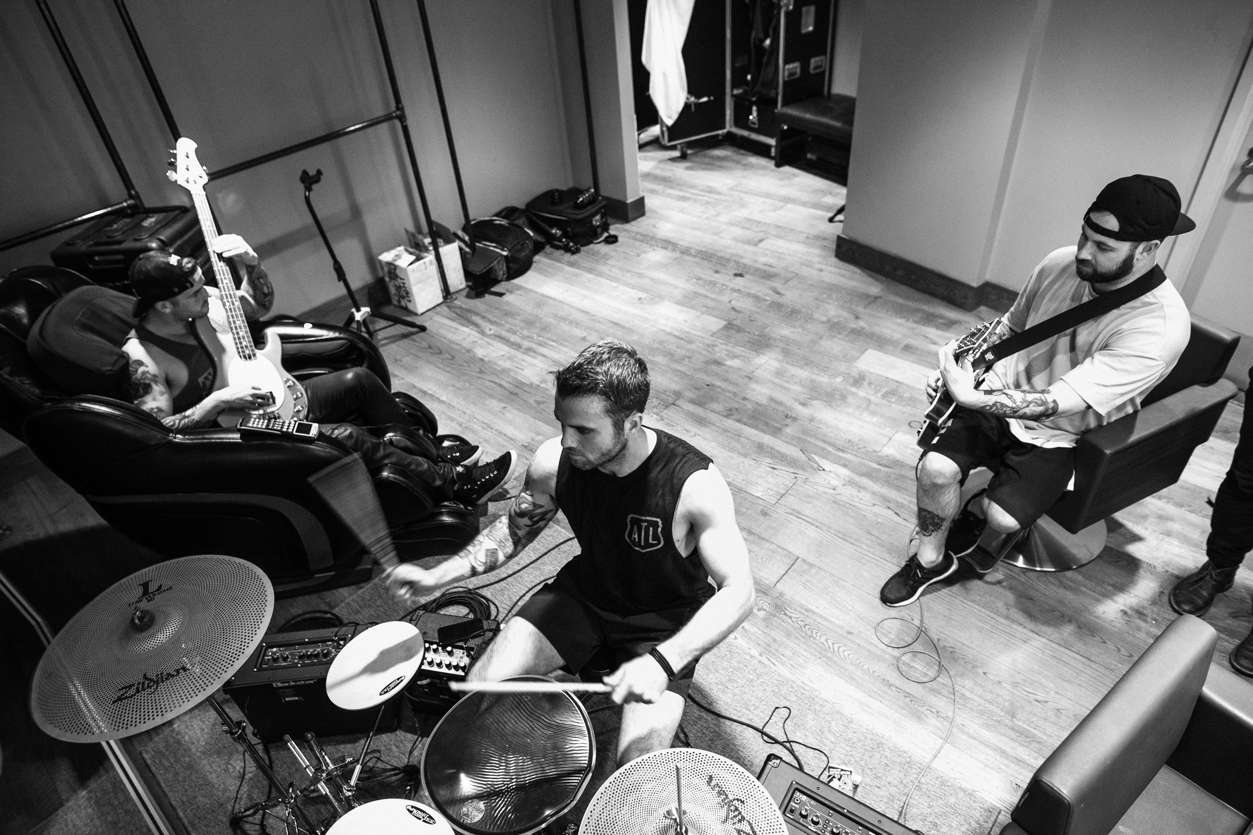 Backstage with All Time Low and A Day to Remember by Adam Elmakias