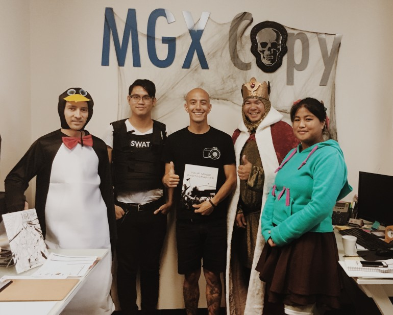 The wonderful people at MGX in San Diego print the magazine.
