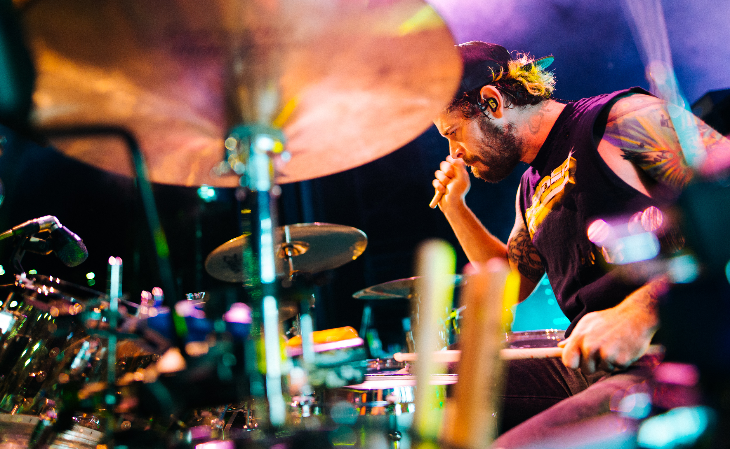 Alex Shelnutt of A Day to Remember by Adam Elmakias