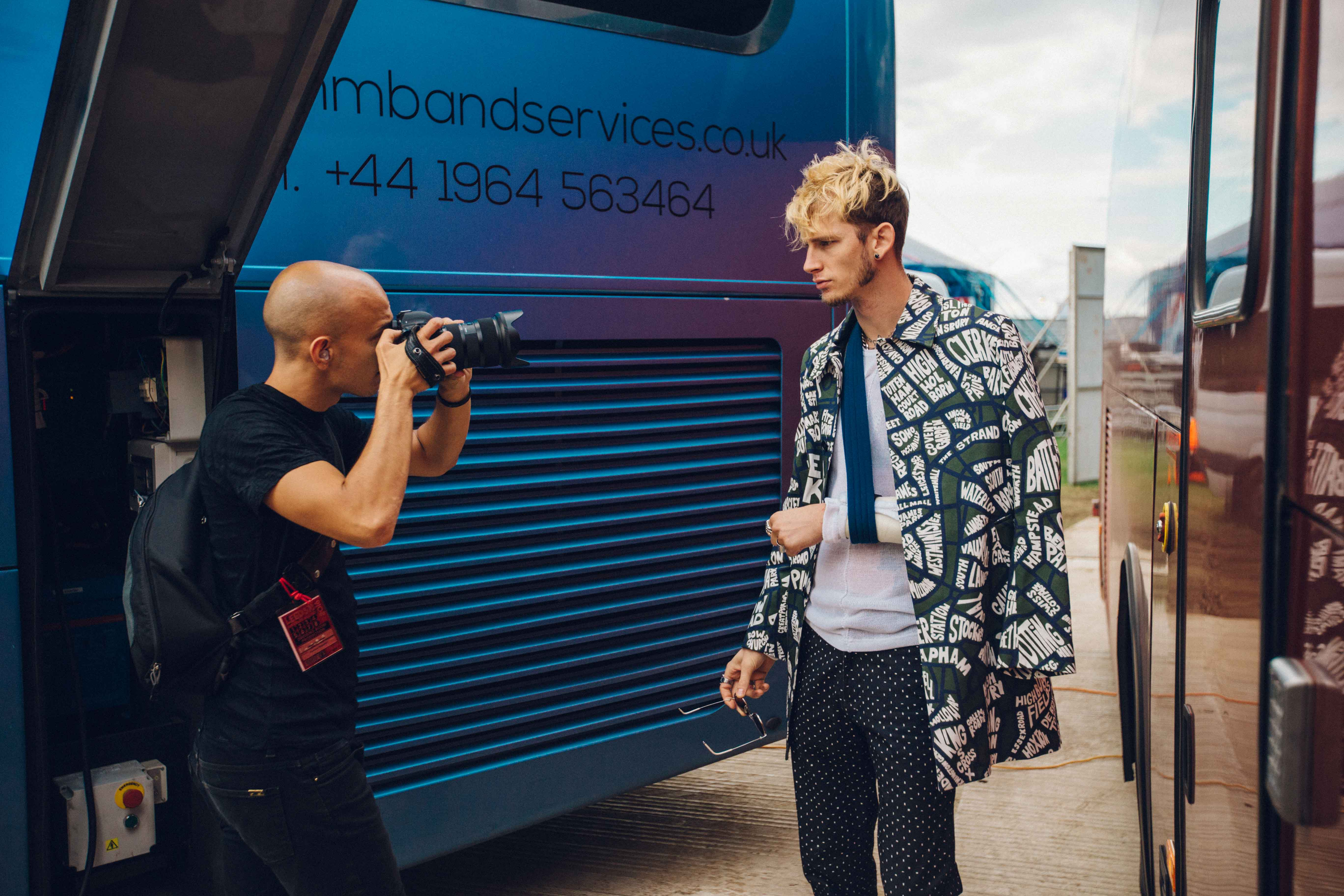 Photographing MGK photo by Casey Lee