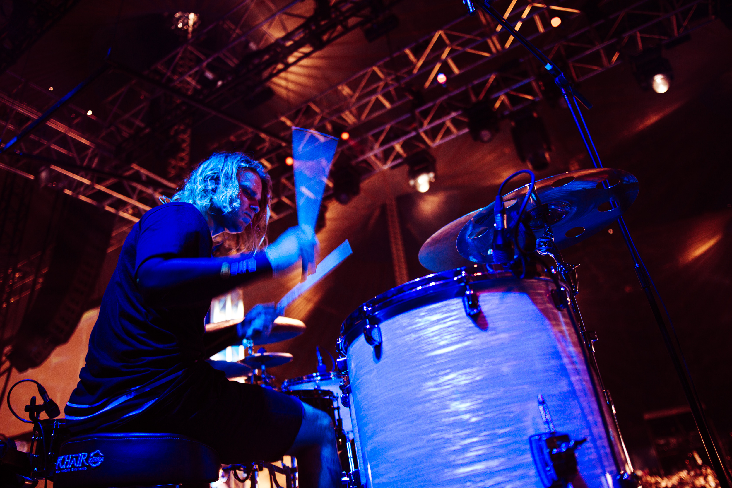 Matt Best of Tonight Alive at Leeds Festival by Adam Elmakias