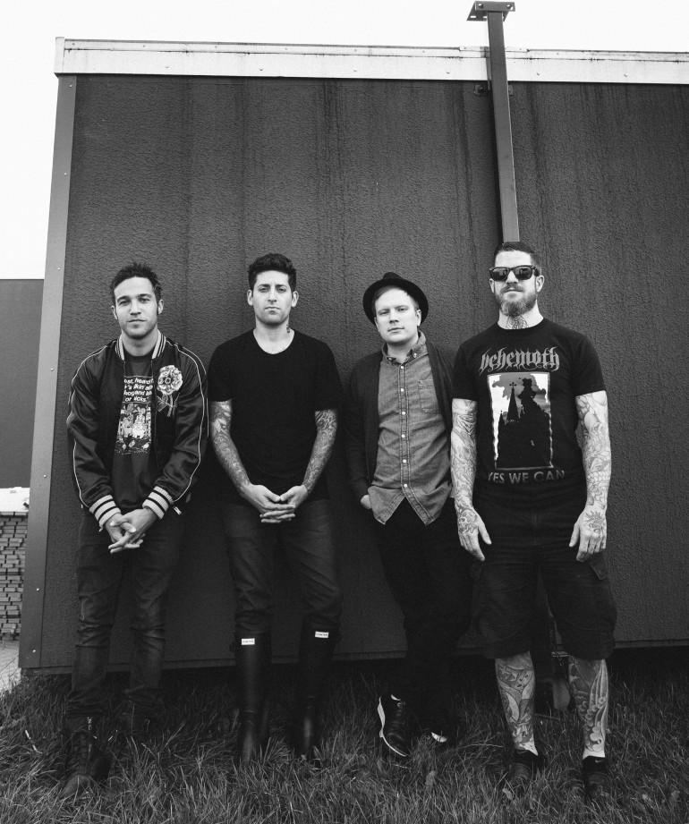Fall Out Boy at Leeds Festival by Adam Elmakias