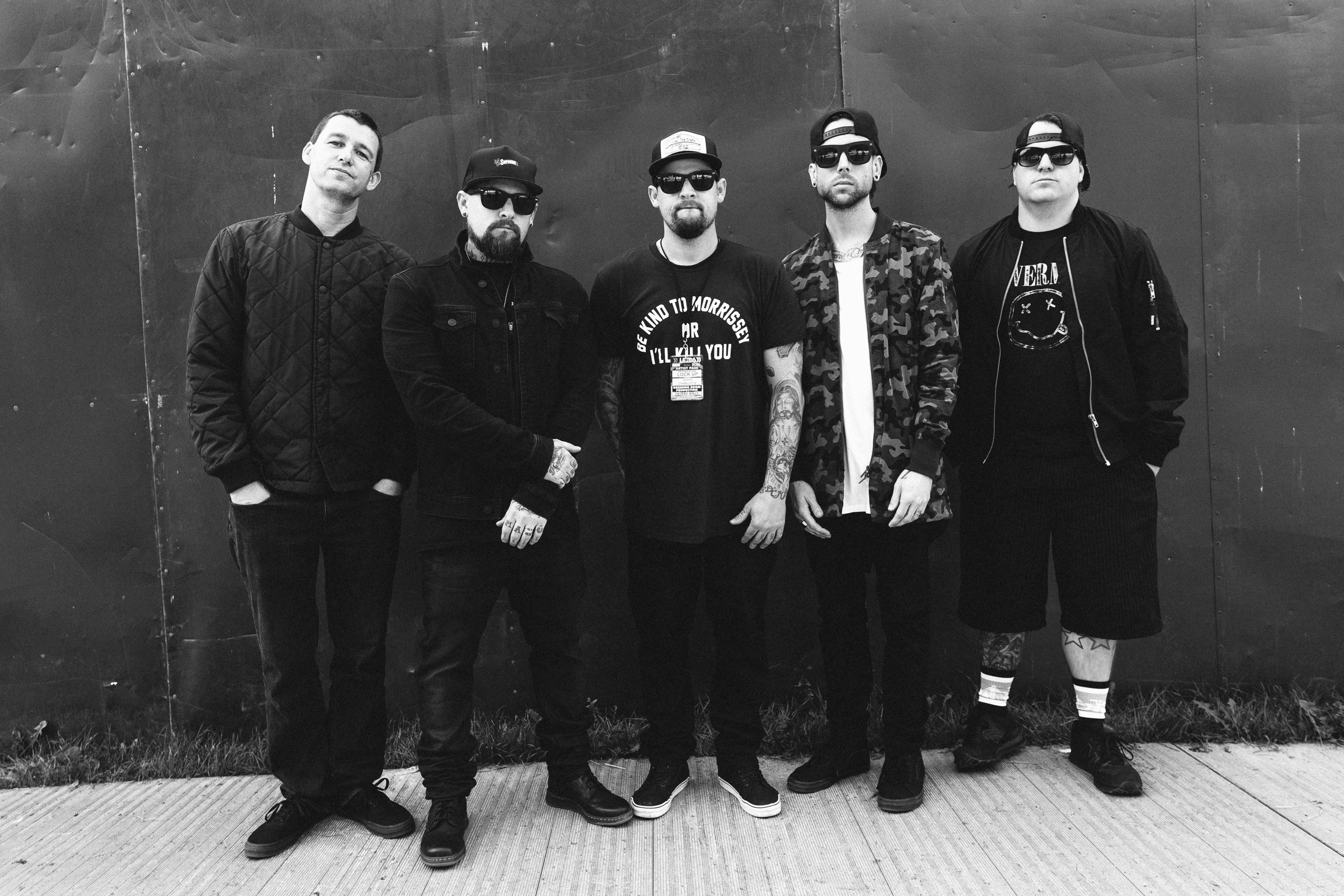 Good Charlotte at Leeds Festival by Adam Elmakias