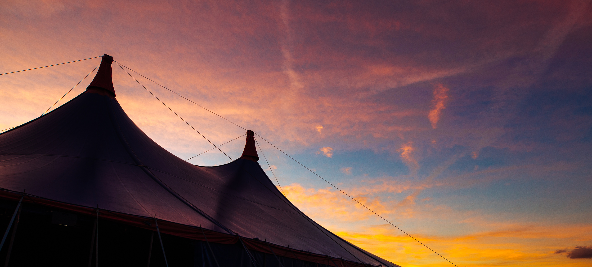 Sunset at Leeds Festival