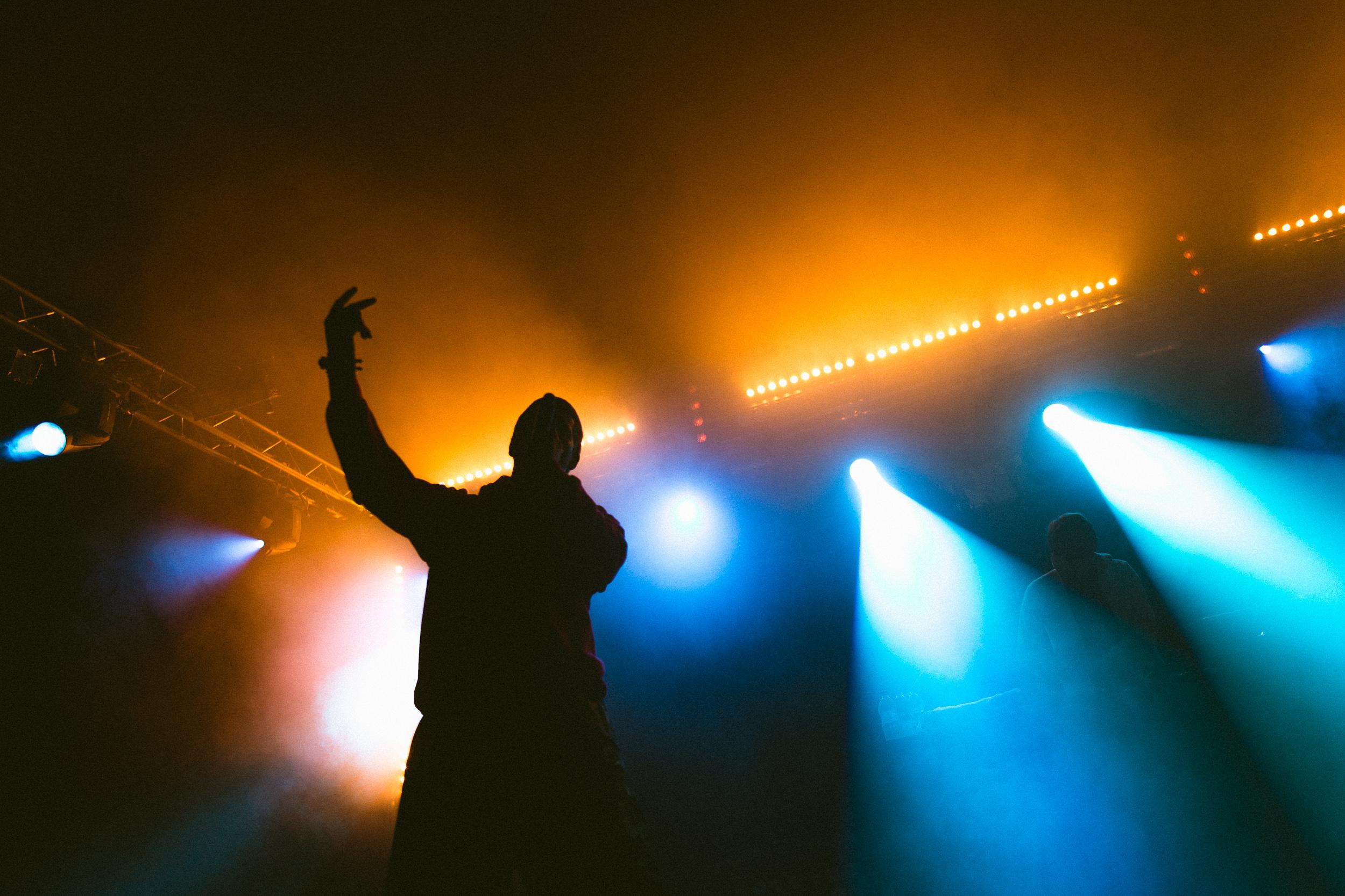 Yung Lean at Leeds Festival by Adam Elmakias