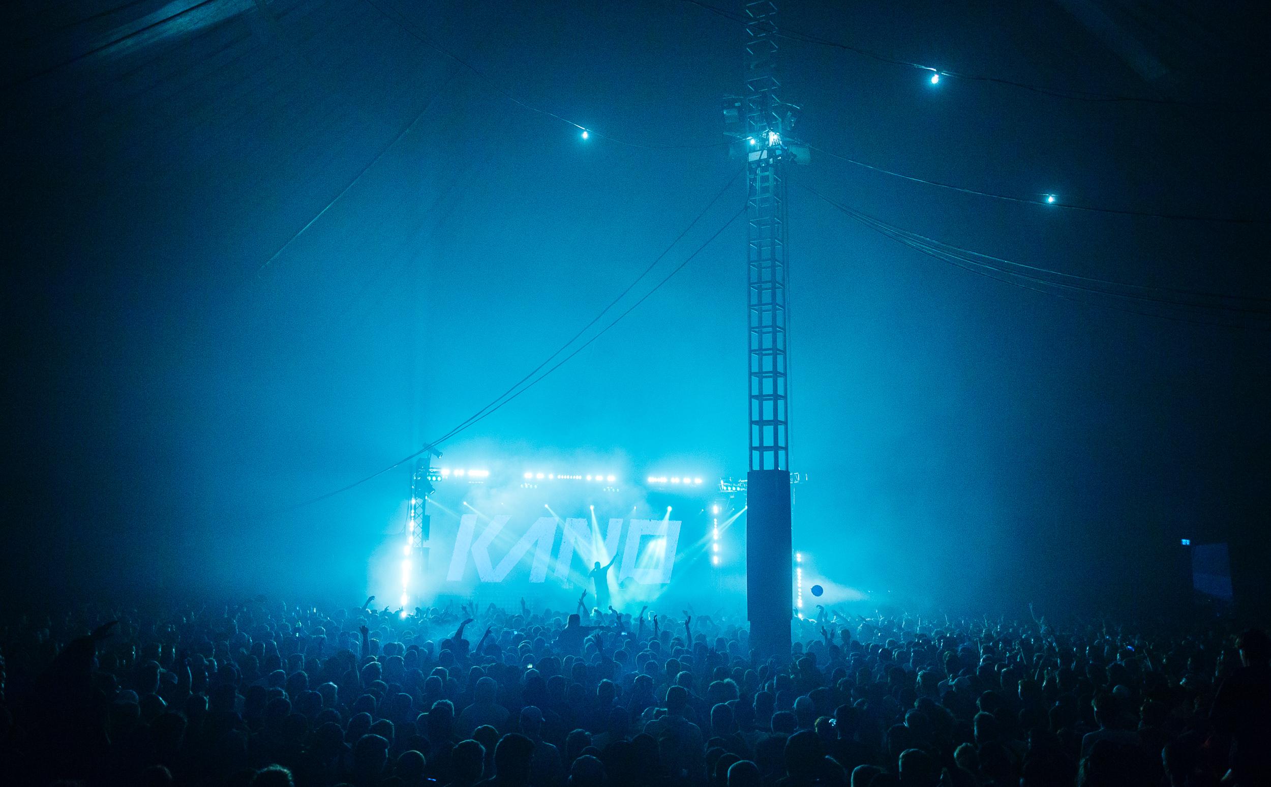 Kano at Leeds Festival by Adam Elmakias