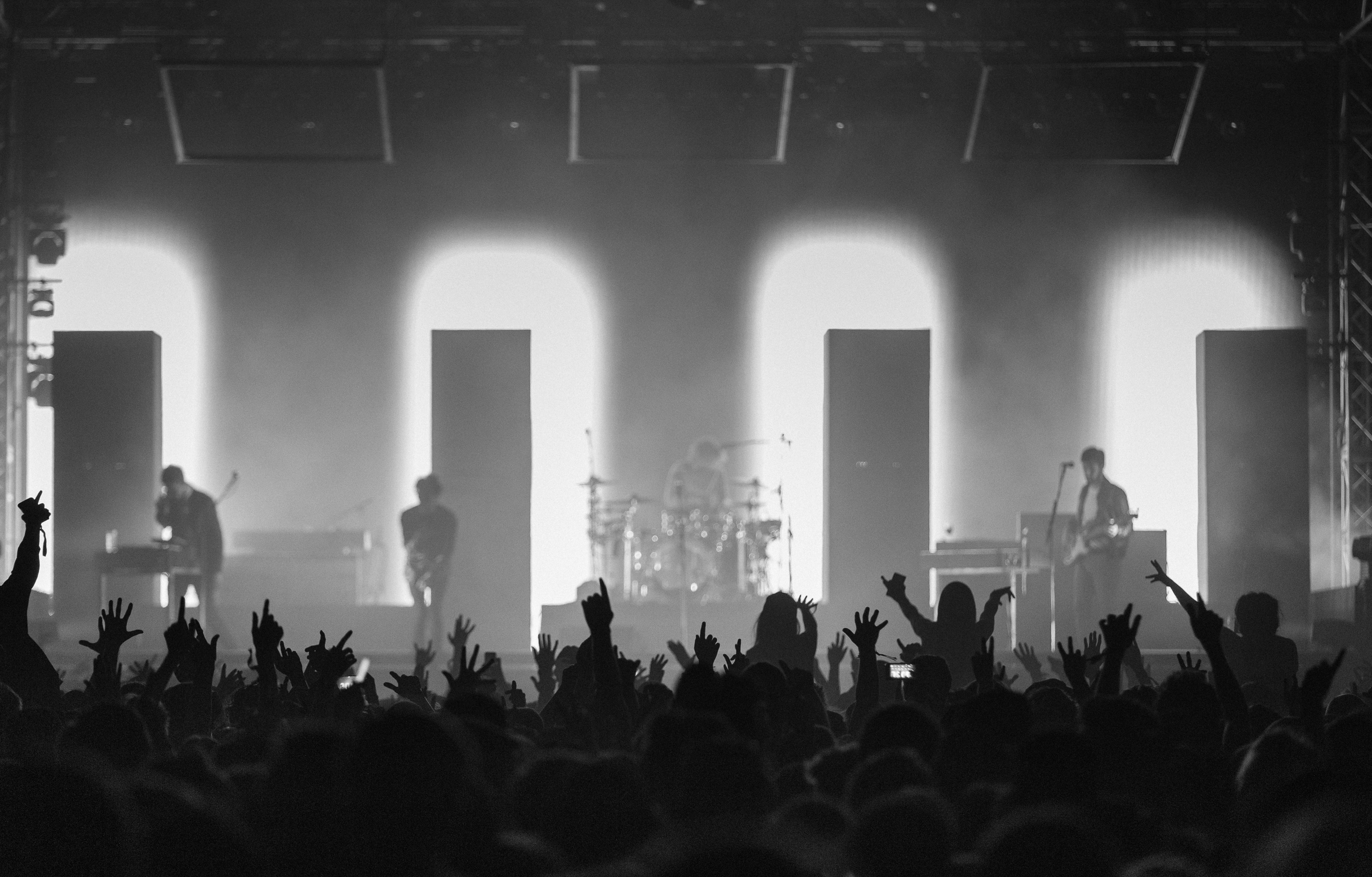 The 1975 at Leeds Festival by Adam Elmakias