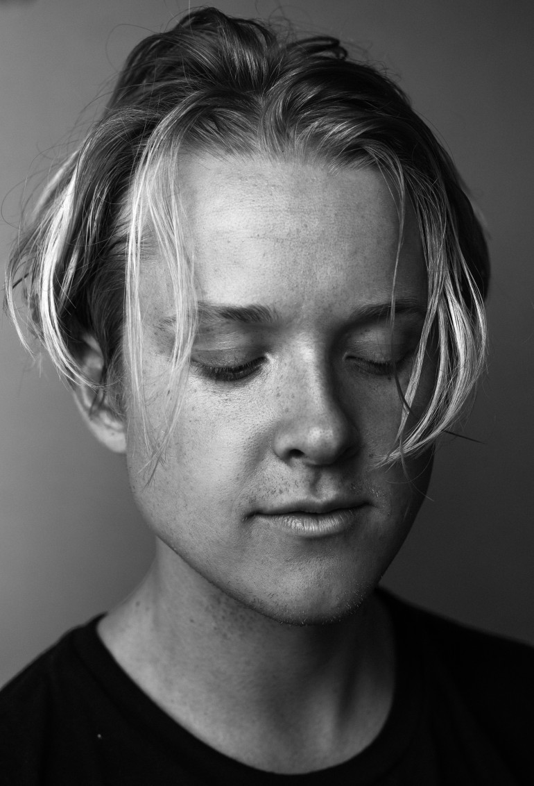 Backstage Portrait - Max Becker of SWMRS by Adam Elmakias