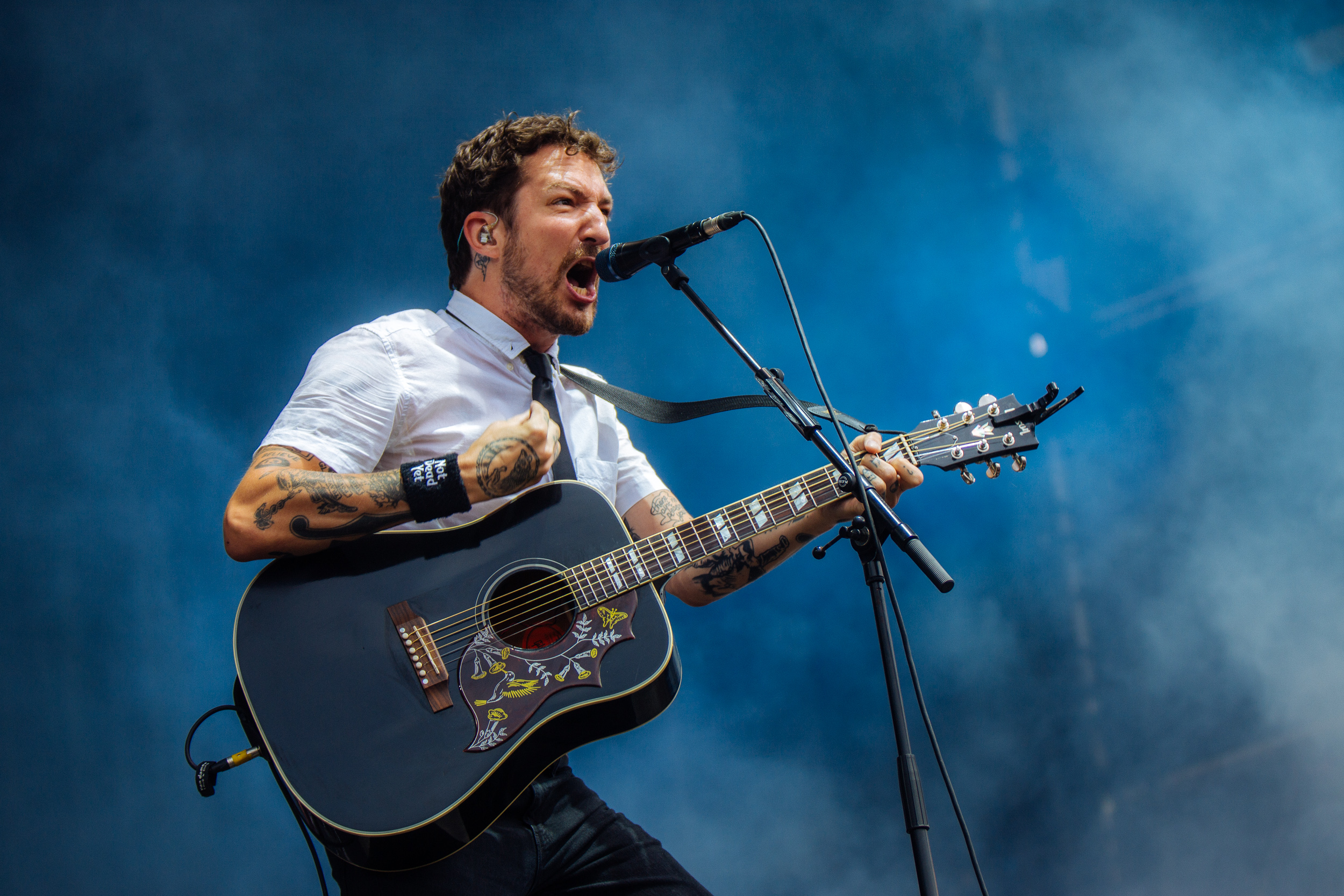 Frank Turner at Leeds Festival by Adam Elmakias