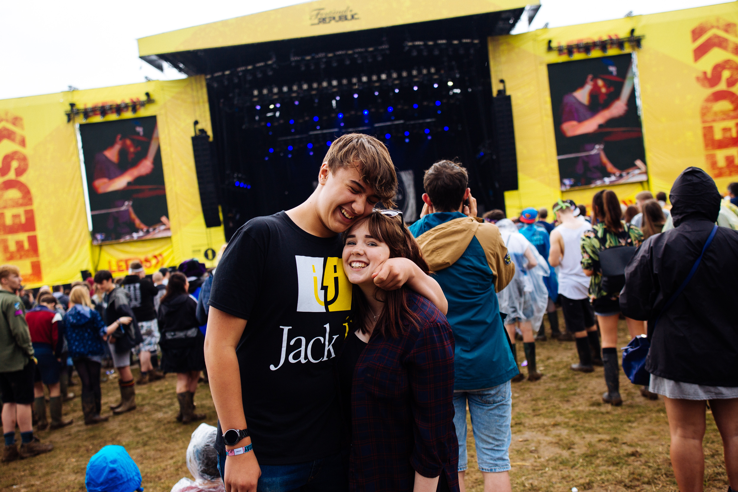 Met some cool people at Leeds Festival