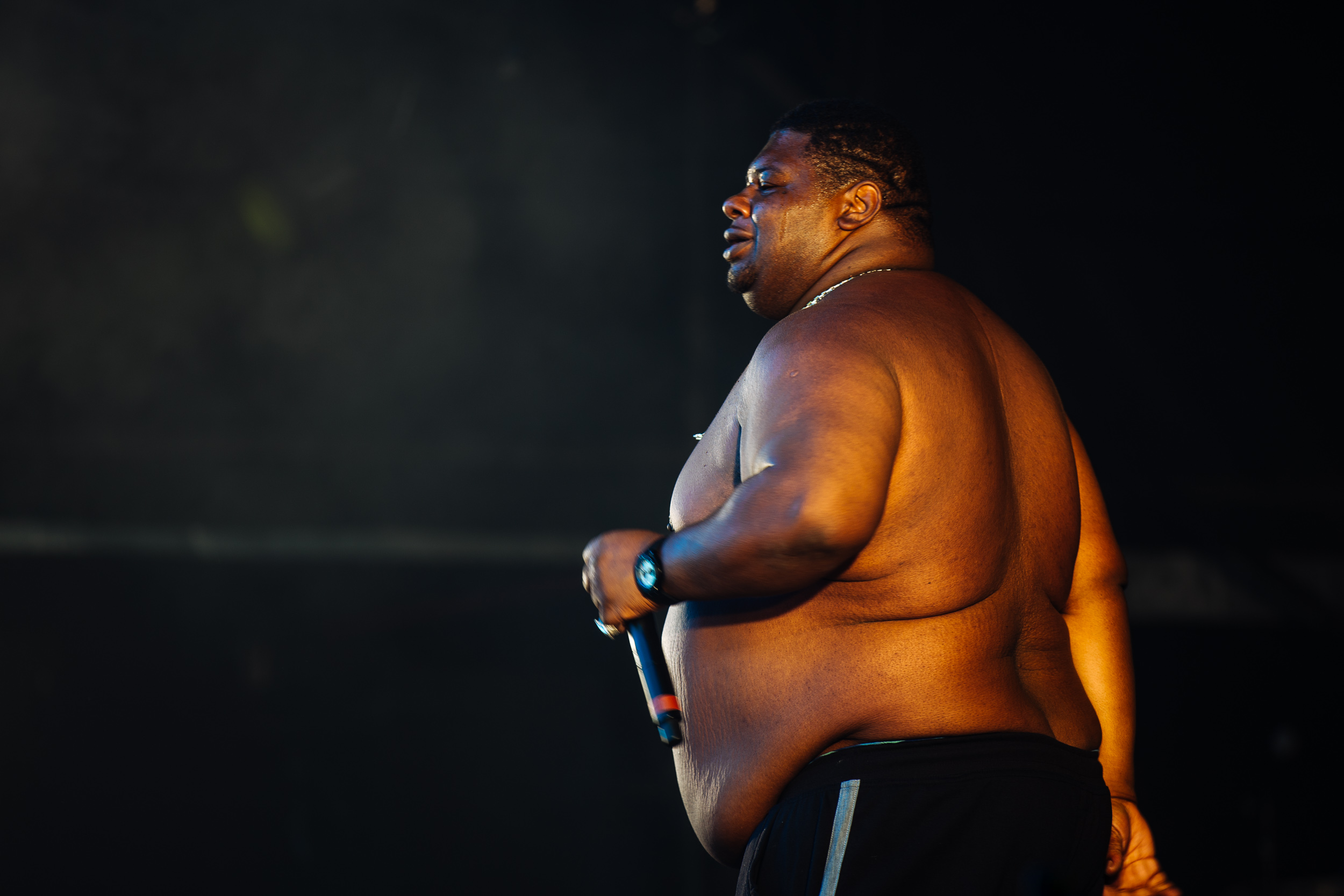 Big Narstie at Wireless Festival by Adam Elmakias