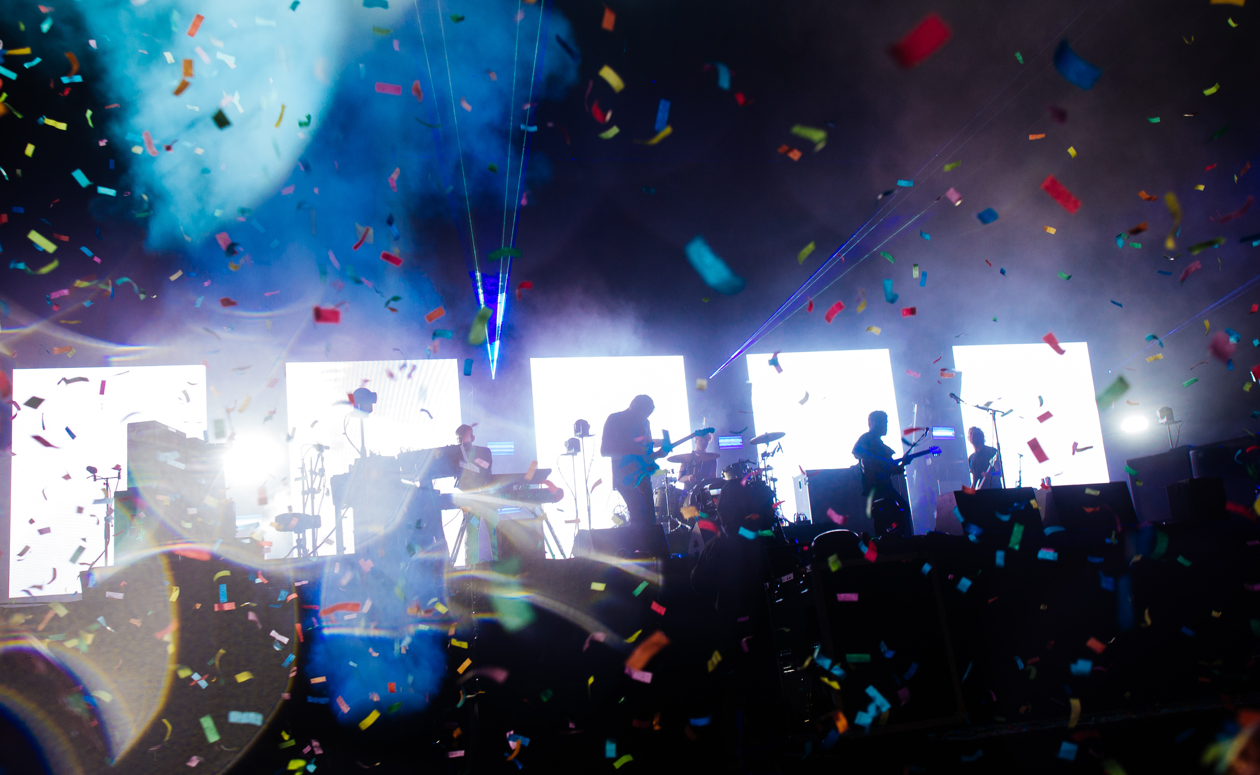 Foals at Leeds Festival by Adam Elmakias