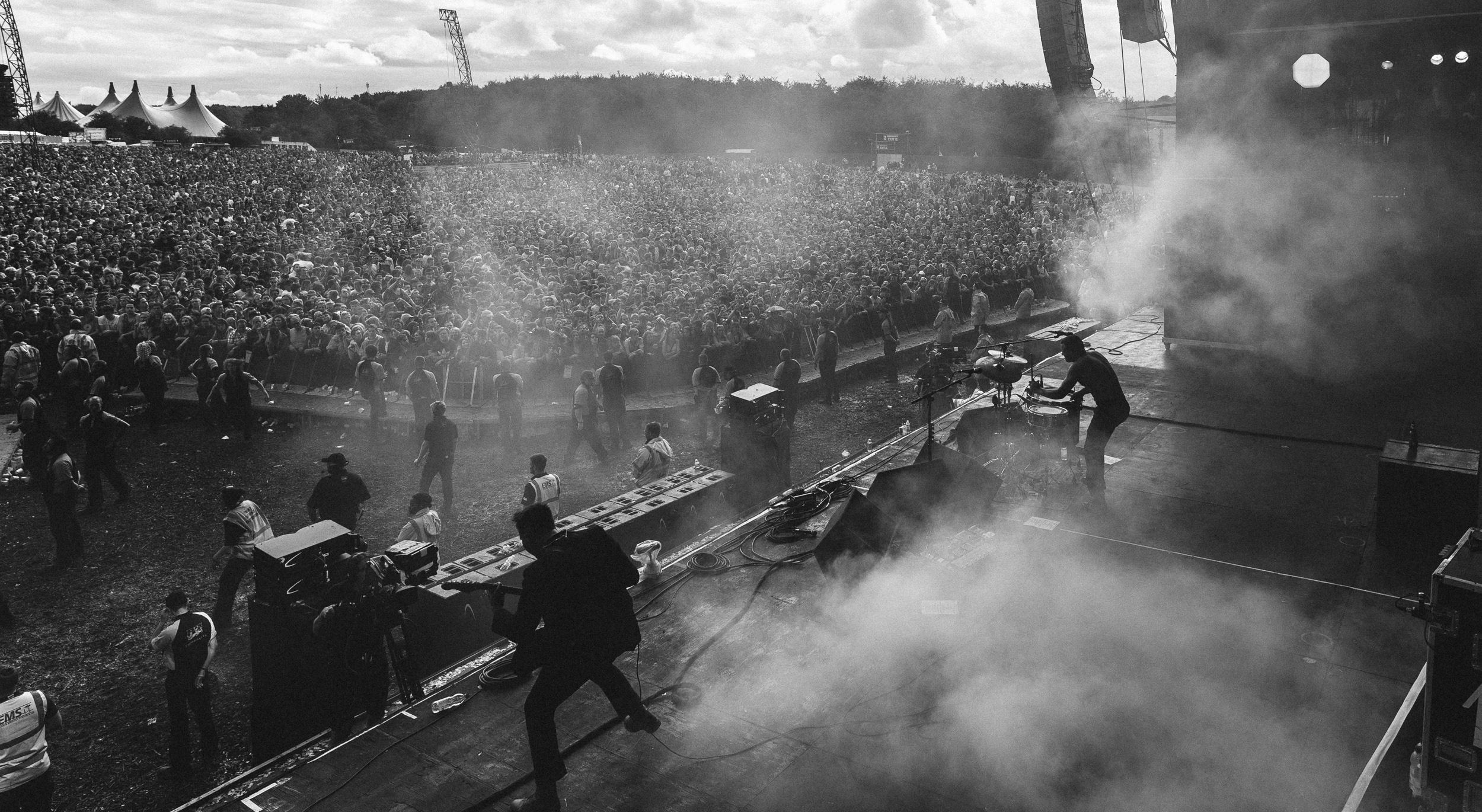 Slaves at Leeds Festival by Adam Elmakias