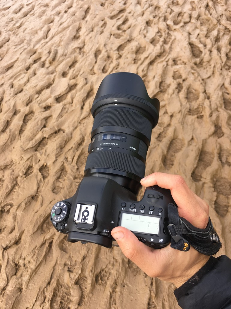 My camera with the mud