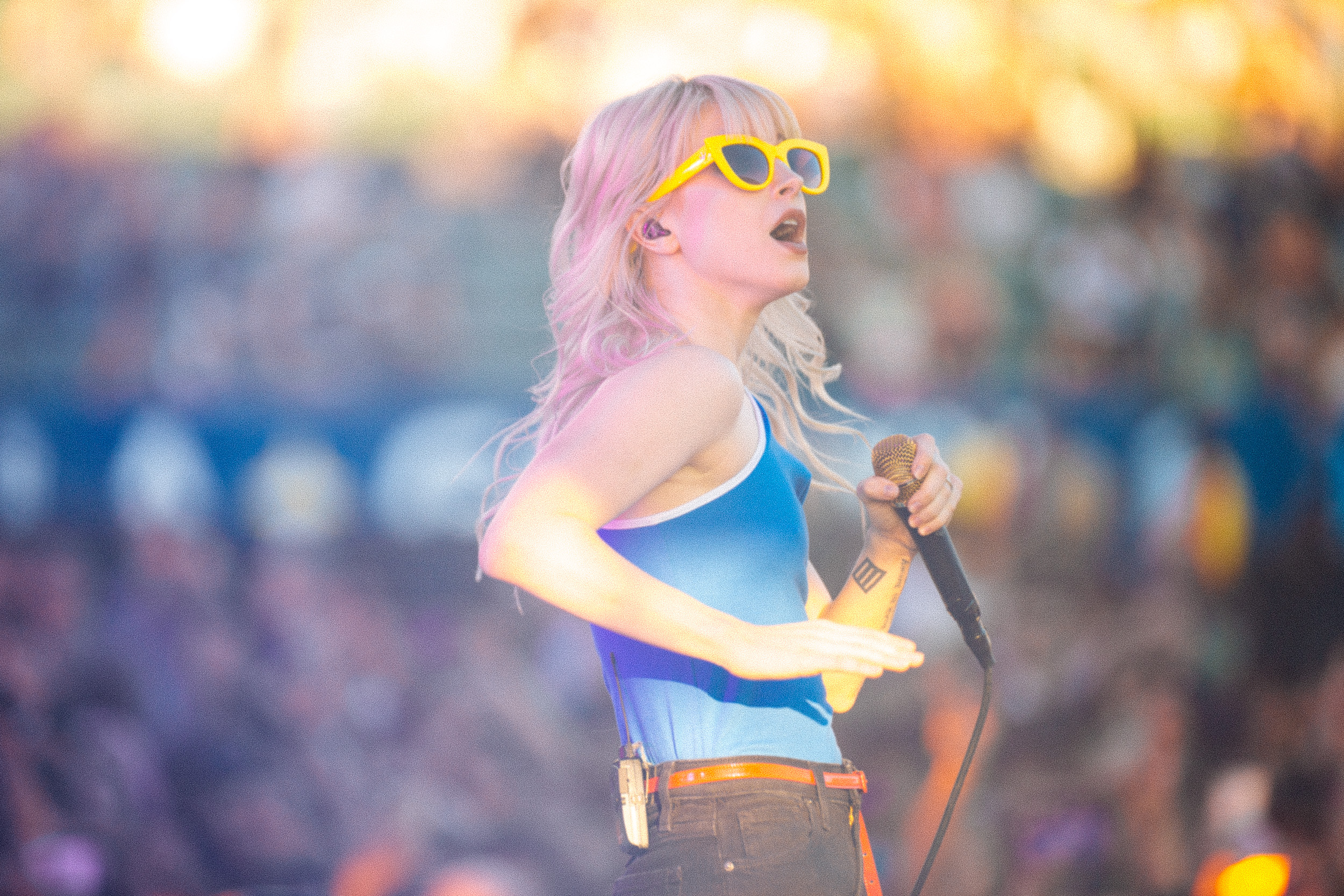 Hayley Williams of Paramore at KROQ Weenie Roast 2017