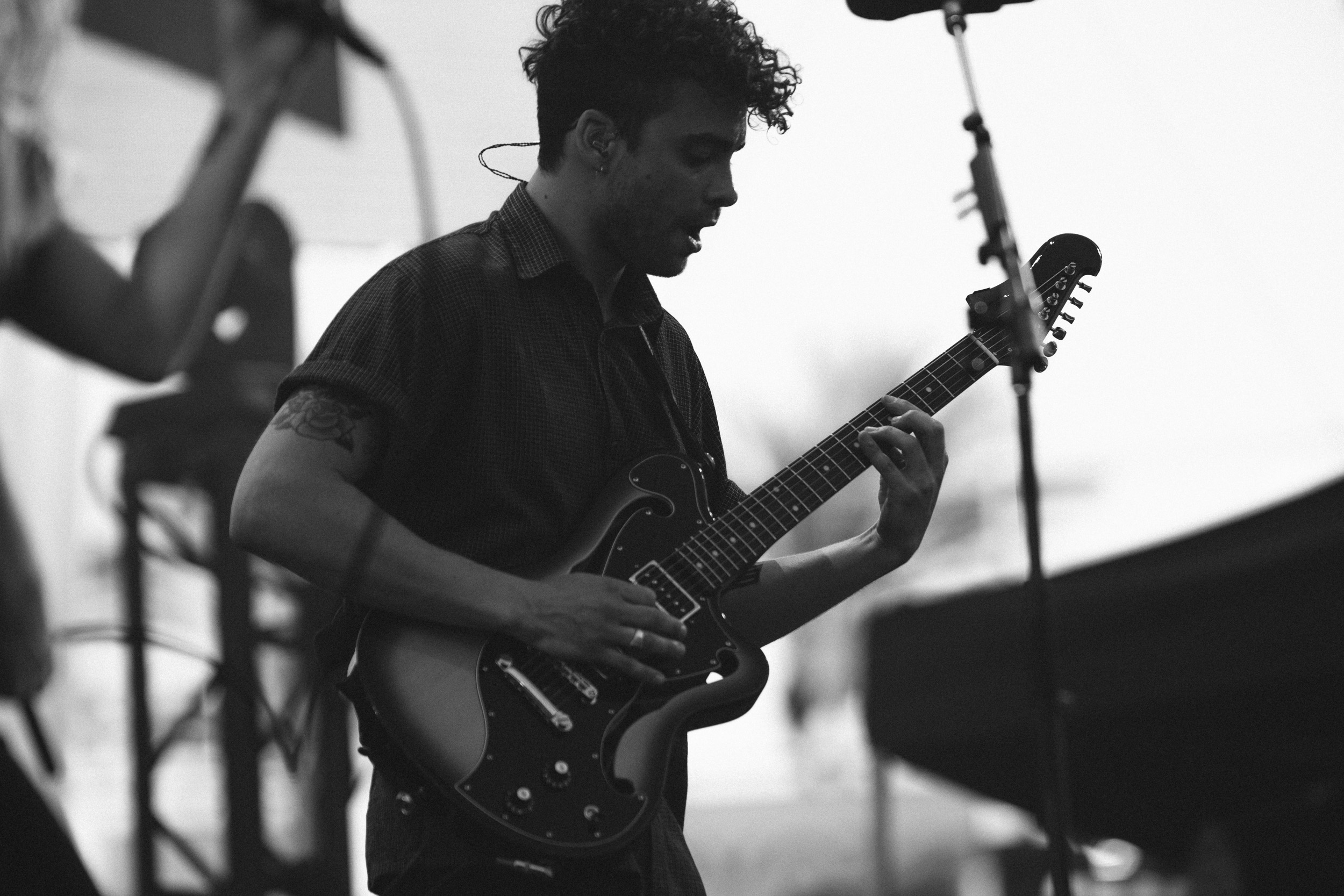 Taylor York of Paramore at KROQ Weenie Roast 2017