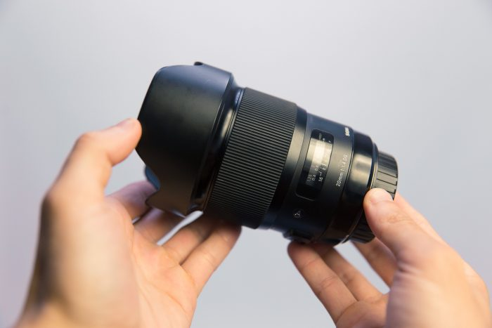 Sigma 20mm f/1.4 Art Lens