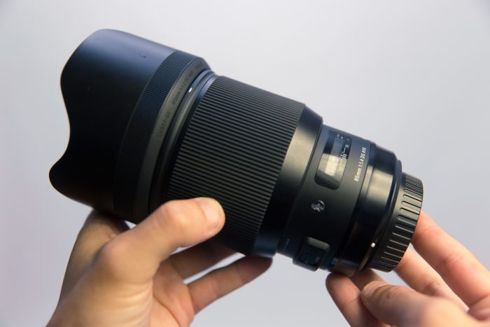 Sigma 85mm f/1.4 Art Lens
