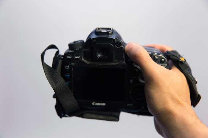 Canon 5D Mark II with Spider Holster Hand Strap