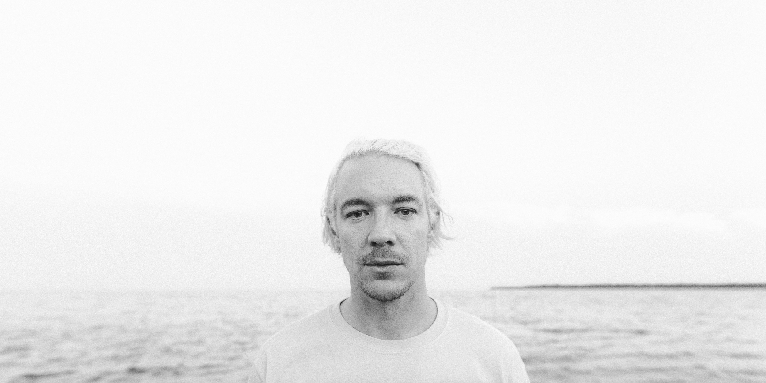 Portrait on the water with Diplo
