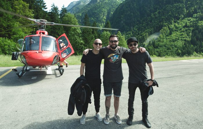Helicopter time! Here we come Jungfrau