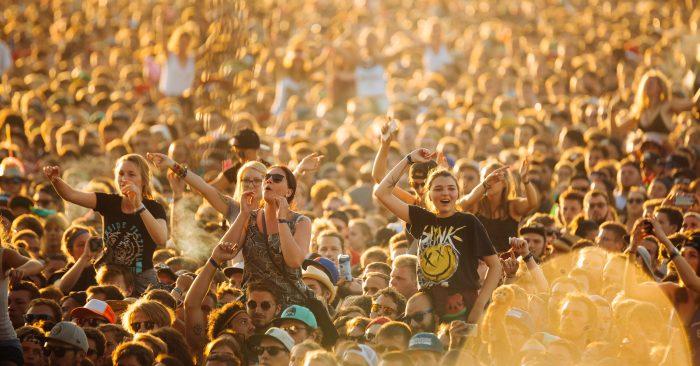 Fans during Blink-182