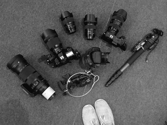 Cameras and lenses and cameras and lenses
