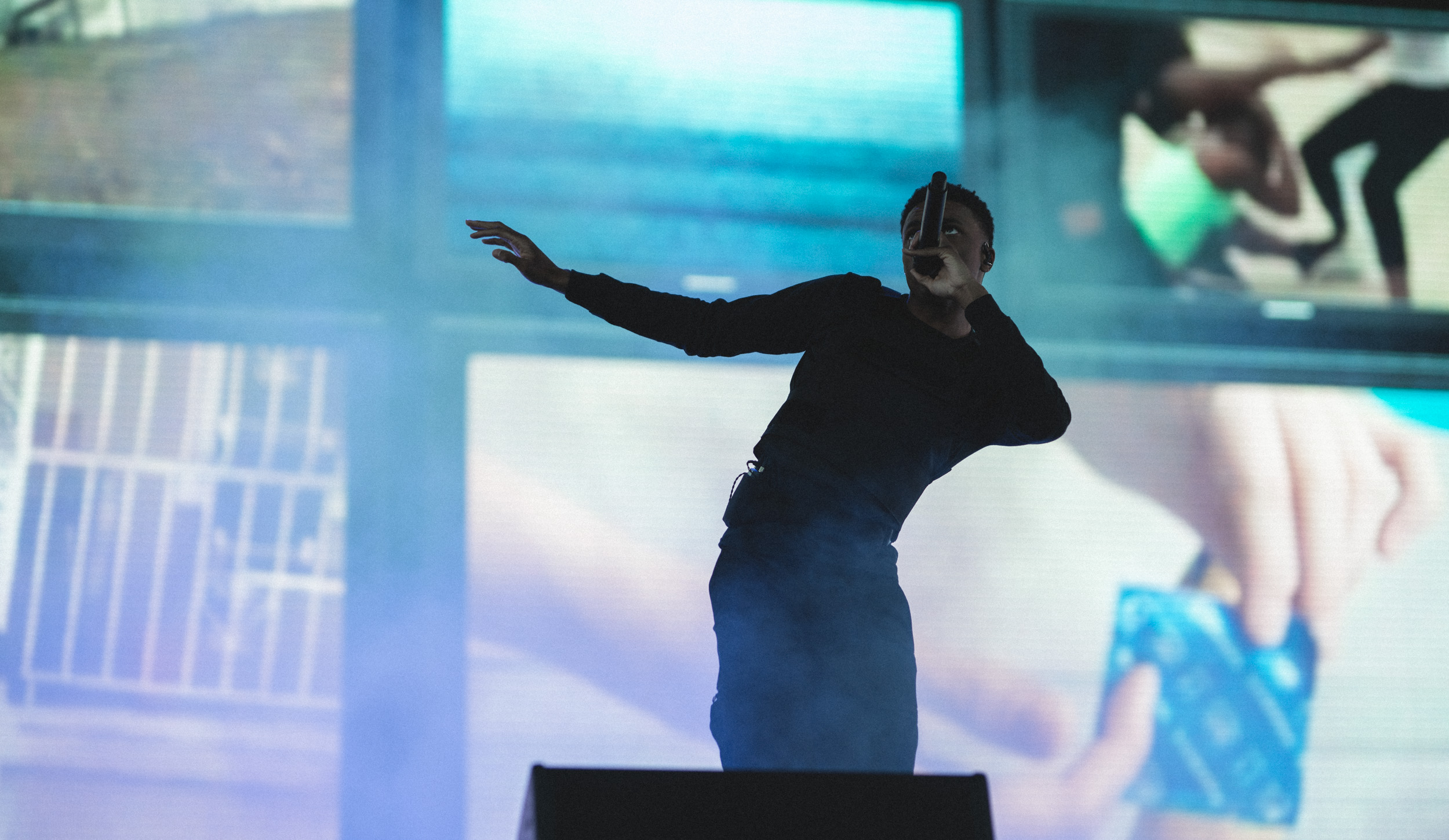 Vince Staples at Coachella 2018 - photographed with a Sony a7R III - Sigma 85mm f/1.4 Art - Sigma MC‑11 Mount Converter