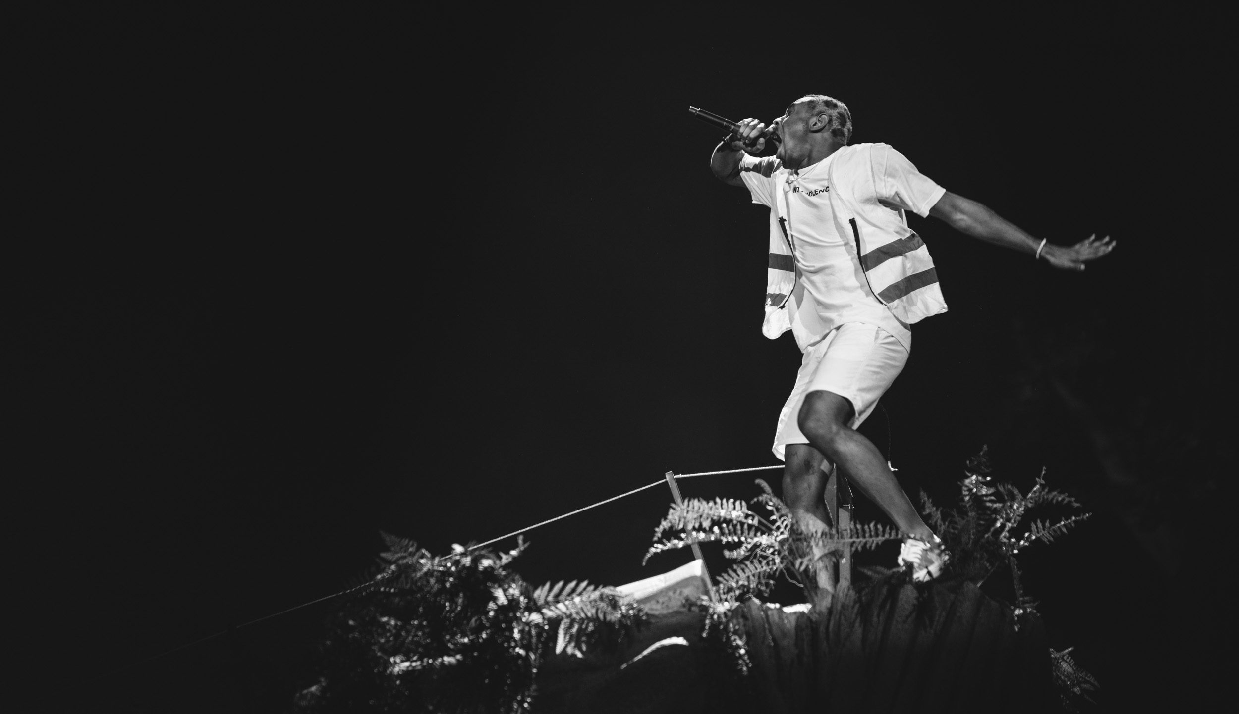 Tyler, The Creator at Coachella 2018 - photographed with a Sony a7R III - Sigma 85mm f/1.4 Art - Sigma MC‑11 Mount Converter