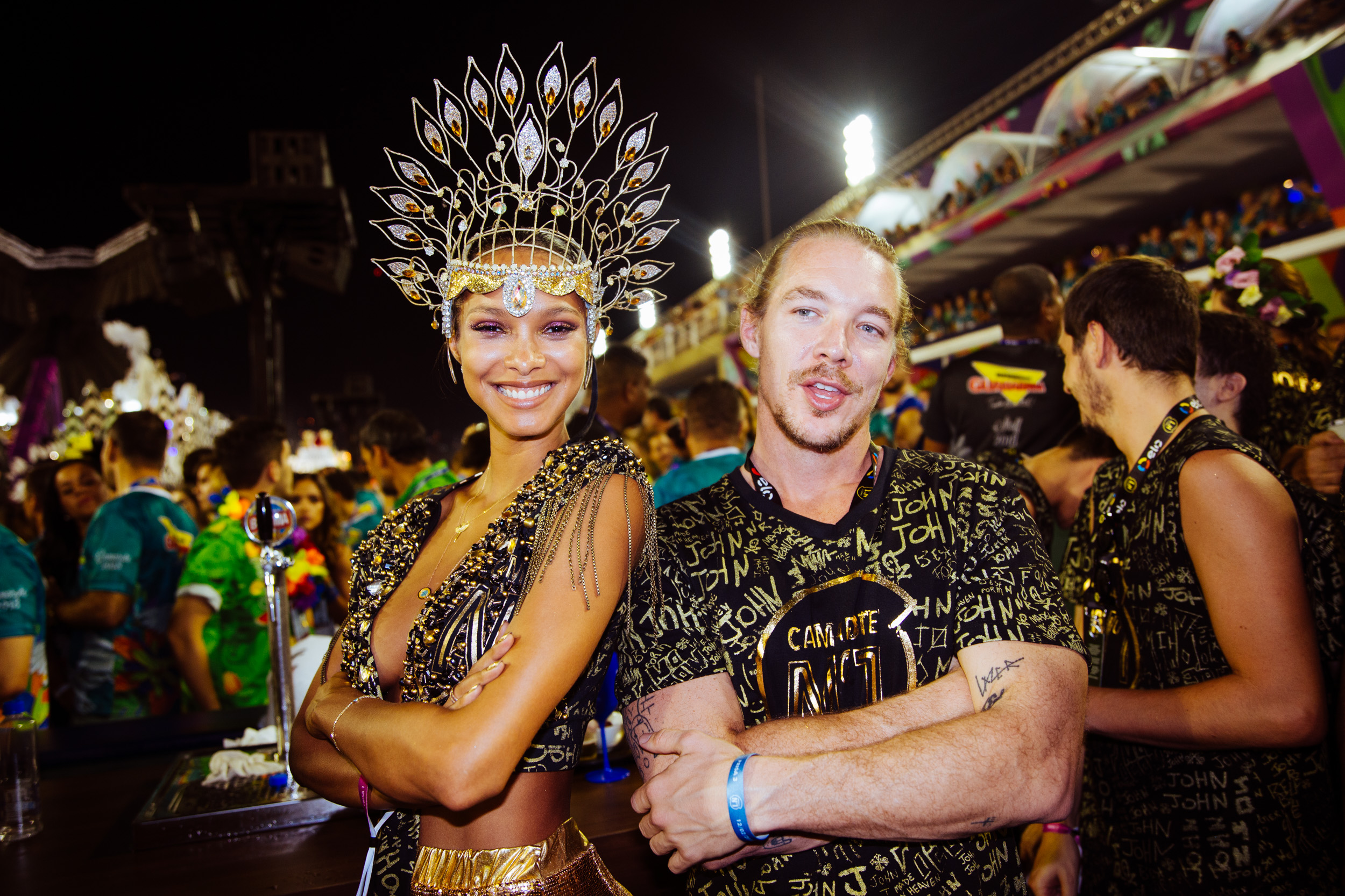 Diplo with a model