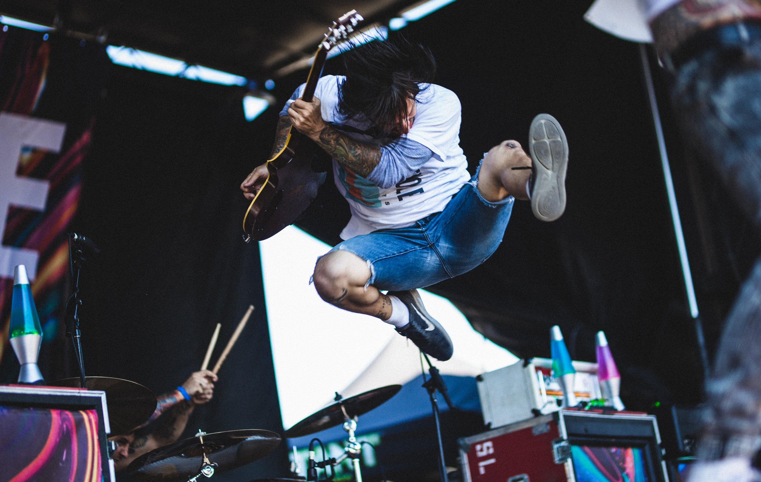 Jordan Keith of Every Time I Die at Warped Tour 2018