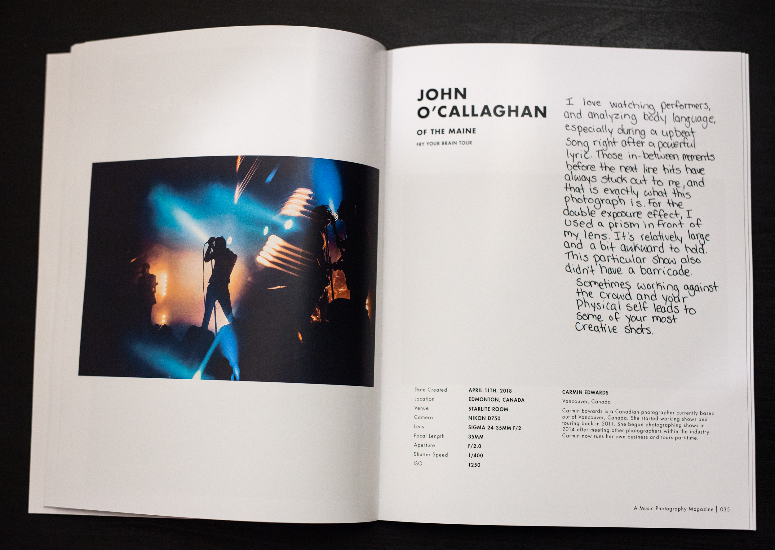A Music Photography Magazine