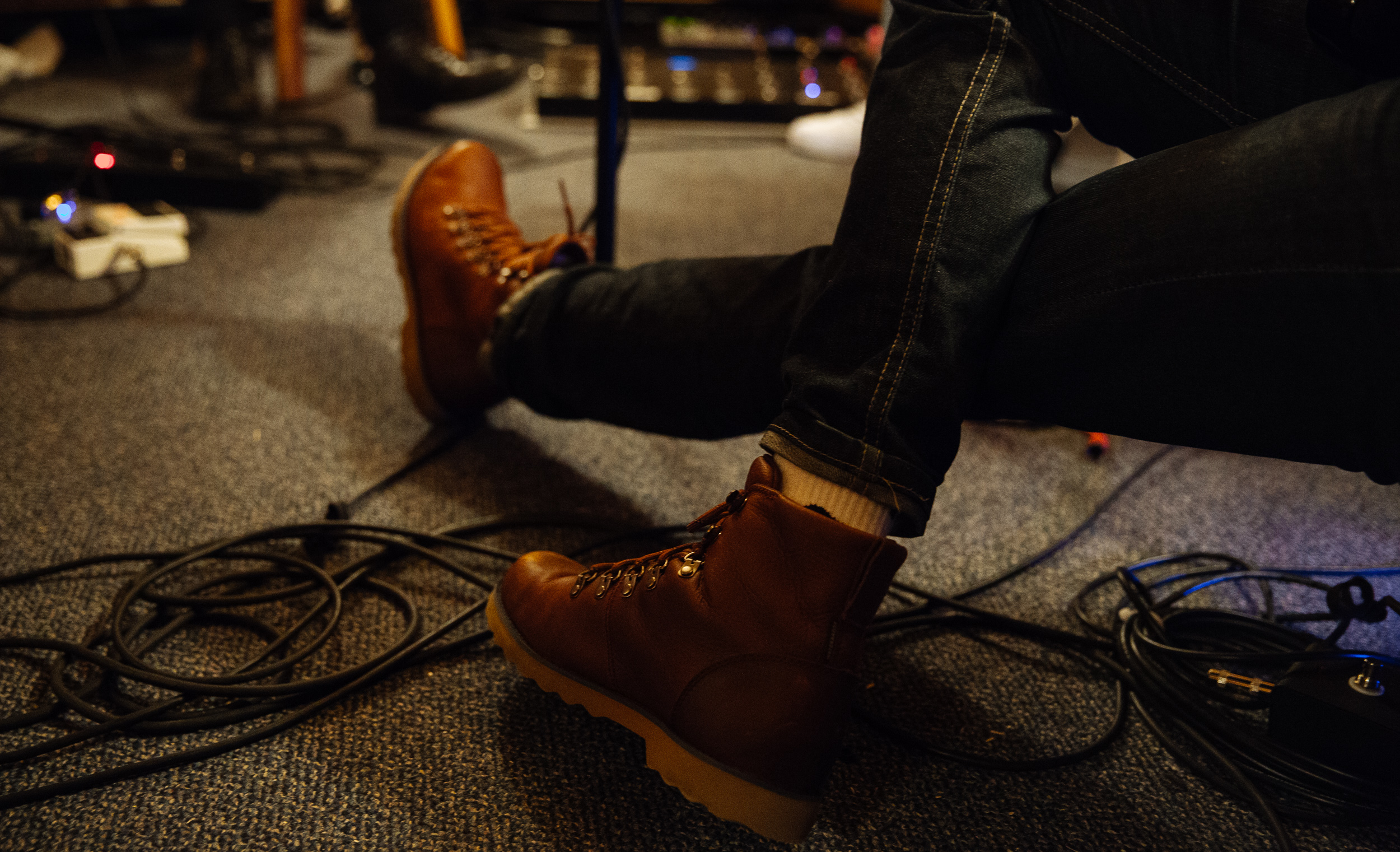 I like Jeremy's shoes always - A Day To Remember in Studio