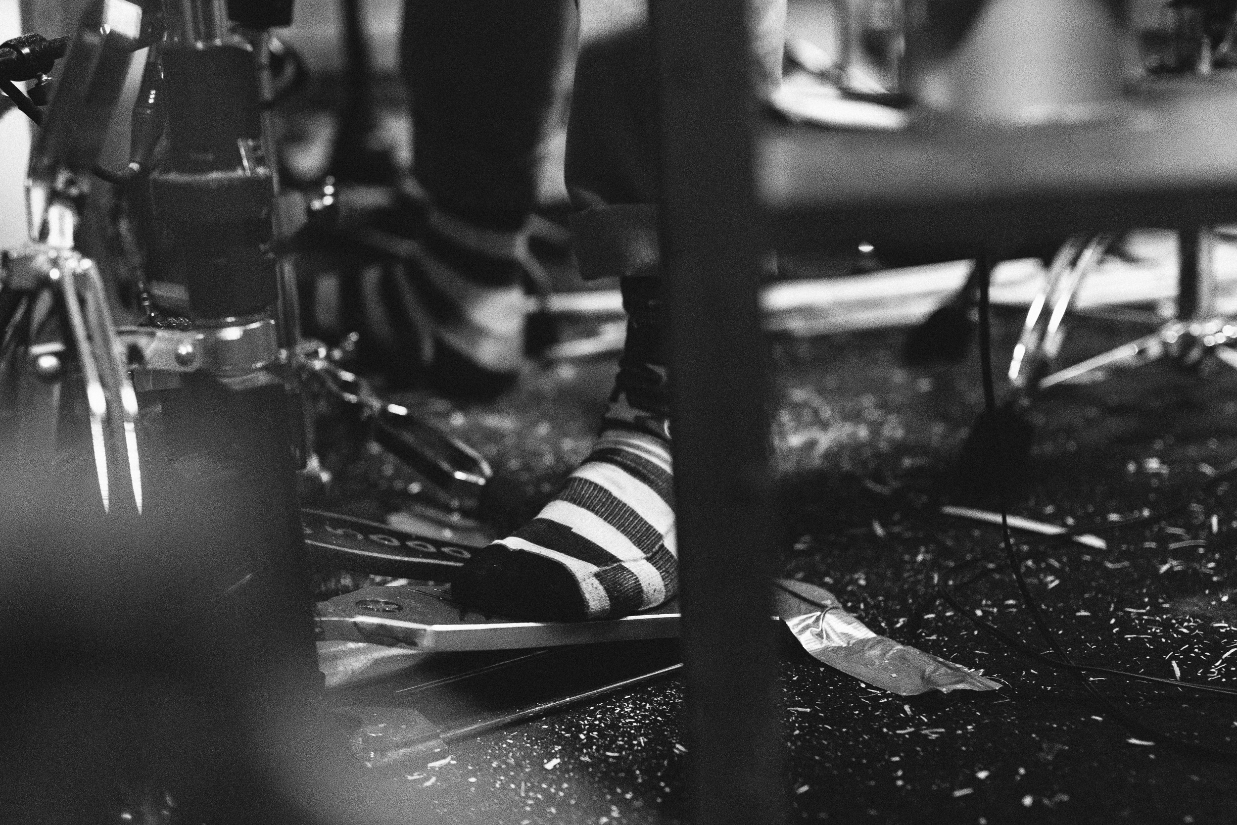 Socks - A Day To Remember in Studio