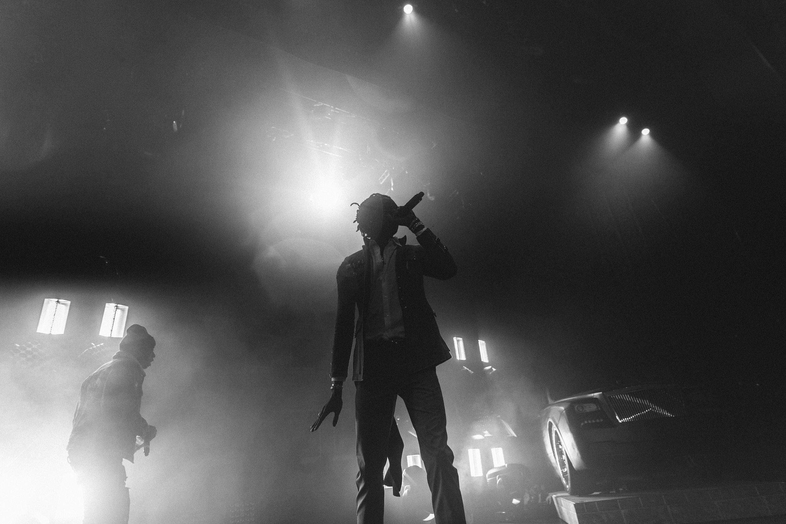Photographing Rap Concerts - Photo of Young Thug